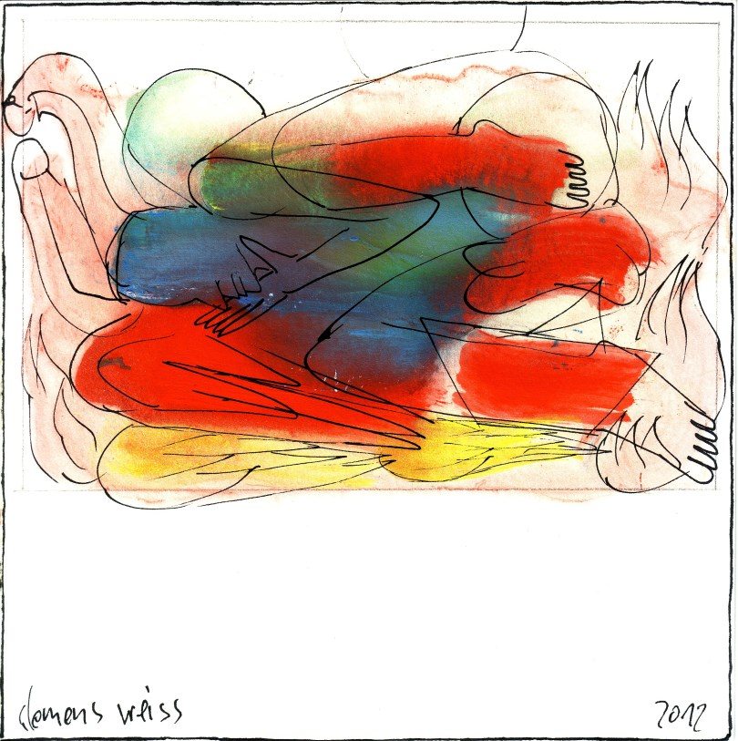 Clemens Weiss_blue + red fool
